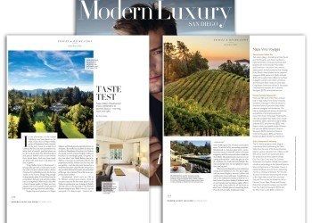 Somerston, Frank Family and Cain featured in Modern Luxury San Diego