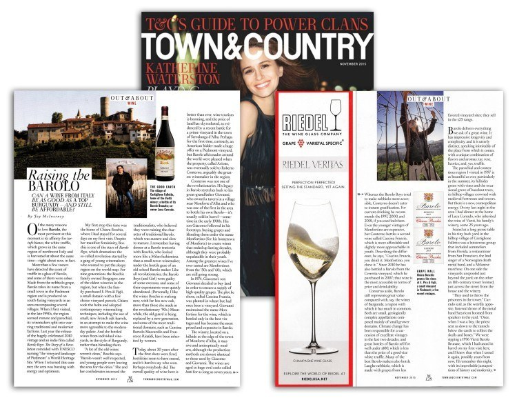 Vietti featured in Town & Country